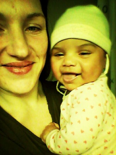 Meine Tochter Kira und ich. .. That's Me and my daugther. .