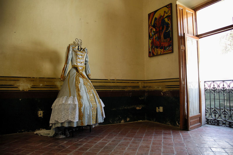 Couture, Fashionable, Fashion History Through The Lens  Indoors  No People Old House San Marcos Vintage Clothes Virreinato Mexicano