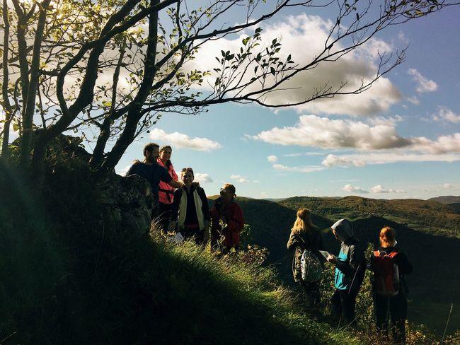 """Apostoli"", Ostrc, Samobor, Hrvatska, 2017. Ostrc Samobor Samoborsko Gorje Croatia Apostols Apostol Documentary Hiking Mountain Togetherness Tree Nature Sky Leisure Activity Perspectives On Nature"