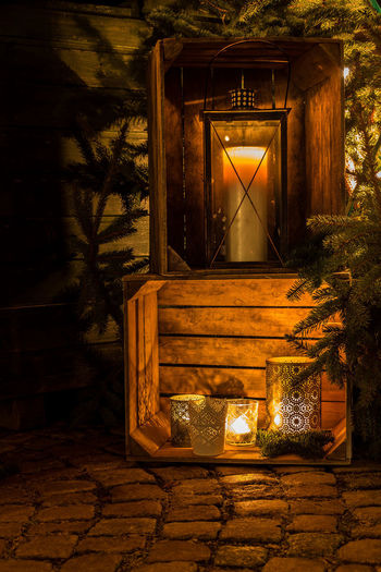 Christmas The Week On EyeEm Weihnachten Architecture Burning Eye4photography  Flame Illuminated Indoors  Lantern Nature Night No People Tree Wood - Material