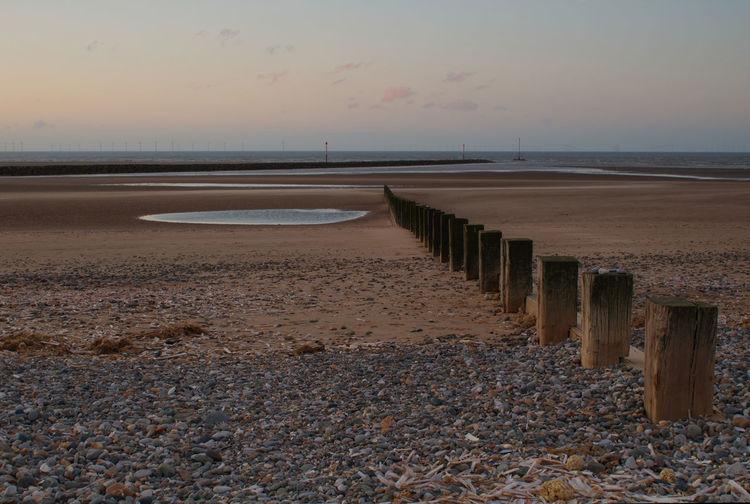 My final picture before my 1 hour journey back home Water Low Tide Sea Sunset Beach Sand Sun Coastal Feature Romantic Sky Coastline Calm Coast