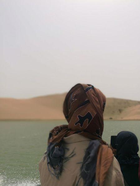 Water Women Headshot Sea Beach Sky
