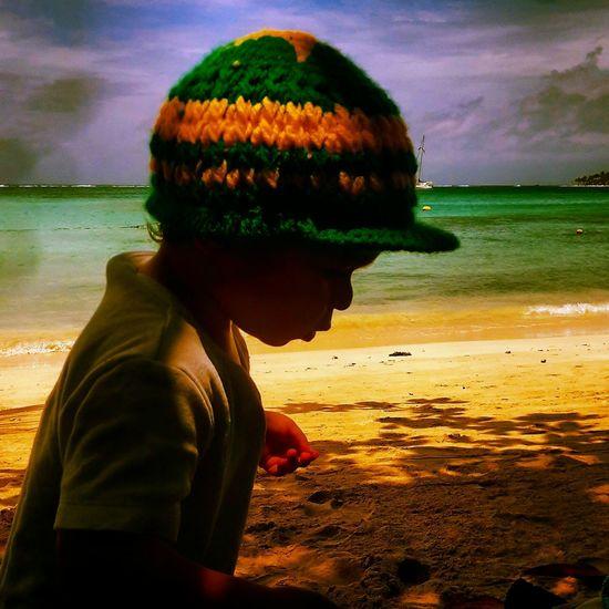 Beach Beachphotography Gwadeloupe Boy Holiday Holidays Love Nature RASTA Creative Light And Shadow