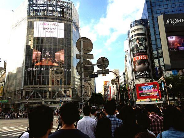 渋谷 Hello World