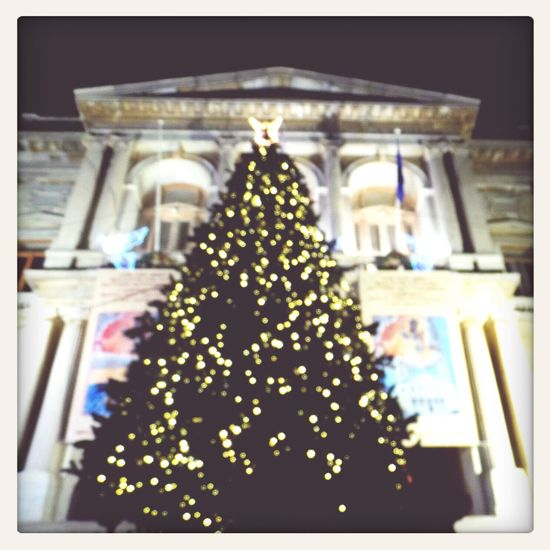 dream of white Christmas! Christmas Tree