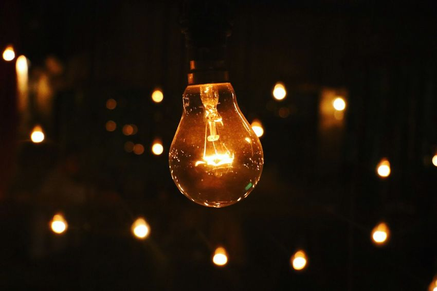 Pivotal Ideas Ideas in life are just like the lamps. Its on you to switch on glow the bulb and the ideas too