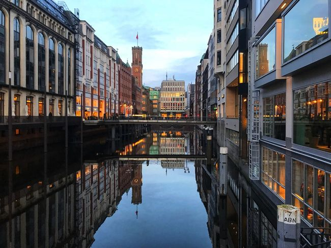 Cityscape Architecture Reflection Built Structure No People Indistrial