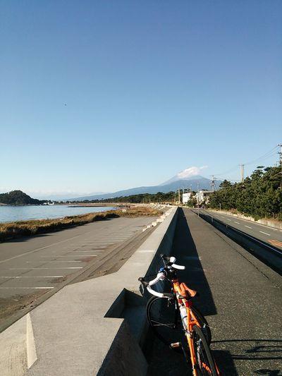 本日の富士山&海岸散歩♪
