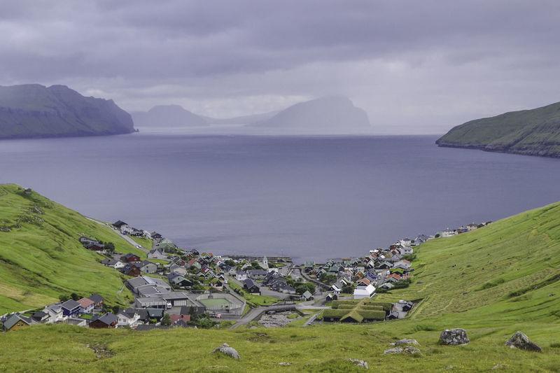 Ways Of Seeing Grass Faroe Islands House Kvivik Mountain Outdoors Sea Village Landscape Summer Road Tripping #urbanana: The Urban Playground