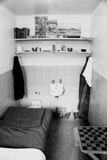 Indoors  No People Home Interior Bathroom Architecture Home Showcase Interior Day Toilet Bowl Prison