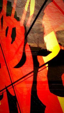 Red black &Yellow, Abtract art, first edition on EyeEm, eyeem gallery taking photos.
