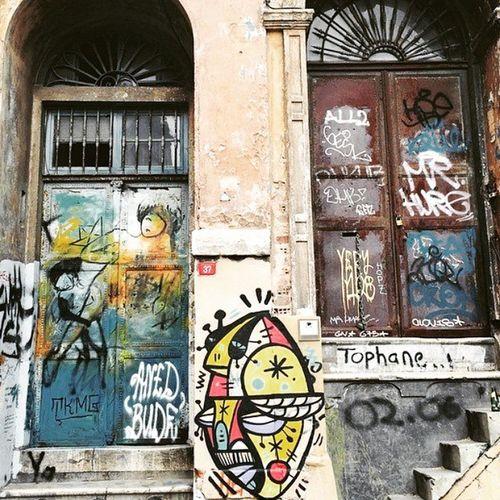 Tophane Wallart Streetart Paint grafitti sanat boyama color sokaksanati istanbul taksim