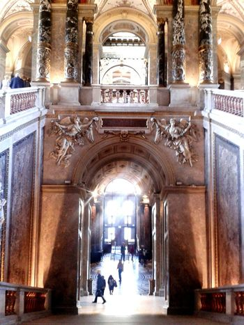 Kunsthistorisches Museum Theentrance Amazing Architecture Beautiful