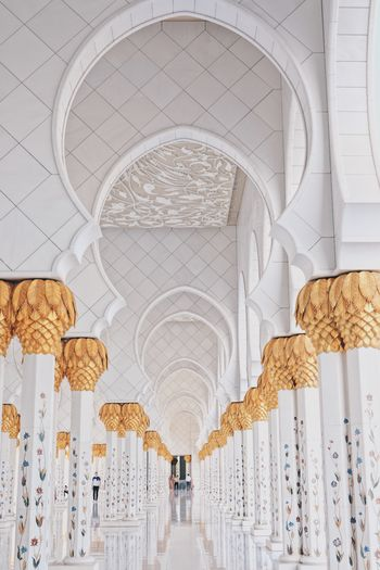 Colonnades in mosque