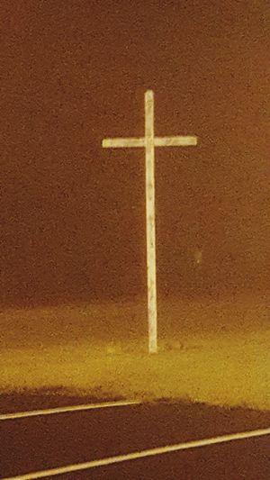 No People Cross Shape Outdoors Day night Nightphotography Jesus Christ Faith Hope God Togetherness Religion Religious  Christian Christianity Jesus Crucifix Church