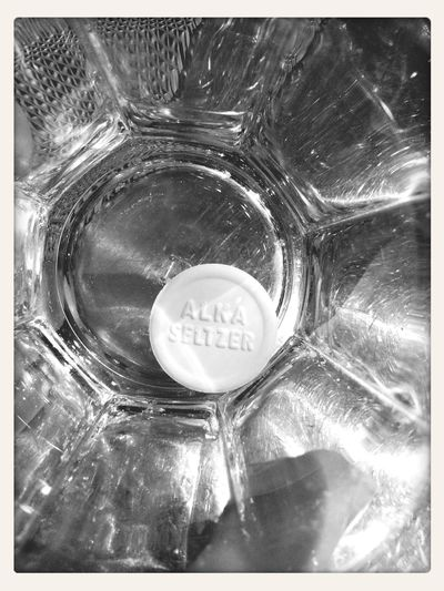 Alkaseltzer Black & White Drunk Nights Alcohol