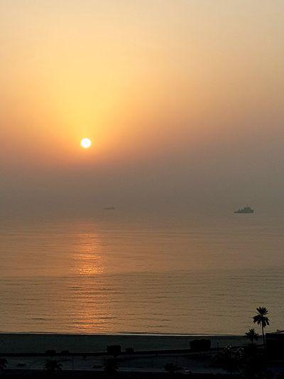 Sunrise with high humidity!! Good morning ، Bonjour ، Buenos dias ، Goede morgen، Καλημέρα ، صباح الخير ، 早安 ، Buongiorno ، Günaydın Water Sea Sunset Beach Beauty Nautical Vessel City Silhouette Sunlight Sun Seascape Wave Atmospheric Mood Moody Sky Sky Only Low Tide Dramatic Sky Crashing