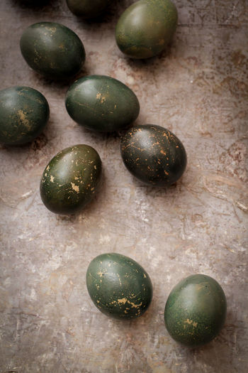 Green Color Hardwood Floor No People Close-up Easter Holidays Easter Decoration Easter Egg Easter Eggs Easter Naturally Dyed Egg Dyed Egg Dyed Eggs Egg