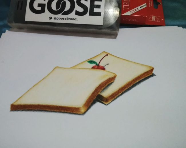 Sketch Art Pencil Sketch  Color Pencils  Drawing Bread Realism