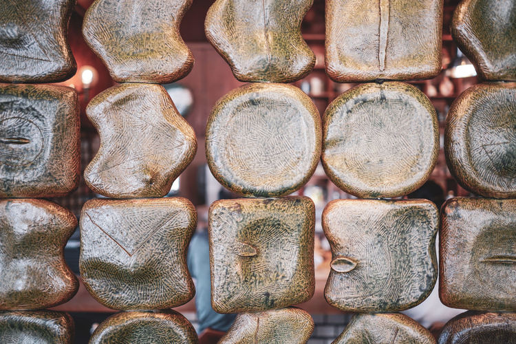 Shaped texture Backgrounds Close-up Design Full Frame Pattern Shape Textured  Wood - Material