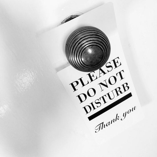 Please do not disturb sign Please Do Not Disturb Sign Notice Door Handle Door Knob Door Knob