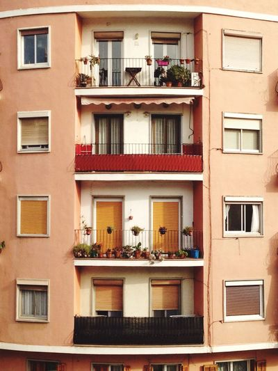 Window Architecture Building Exterior Balcony Built Structure Residential Building Day Full Frame Outdoors City No People Apartment Window Box The Great Outdoors - 2017 EyeEm Awards