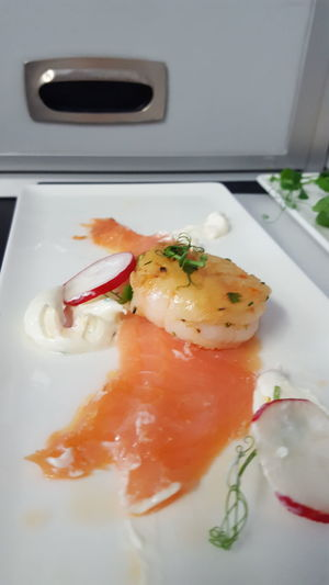 Show Us Your Takeaway! Check This Out Salmon Prawn