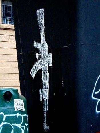 Paper AK47 Johannesburg Maboneng Precinct Streetphotography Streetart/graffiti