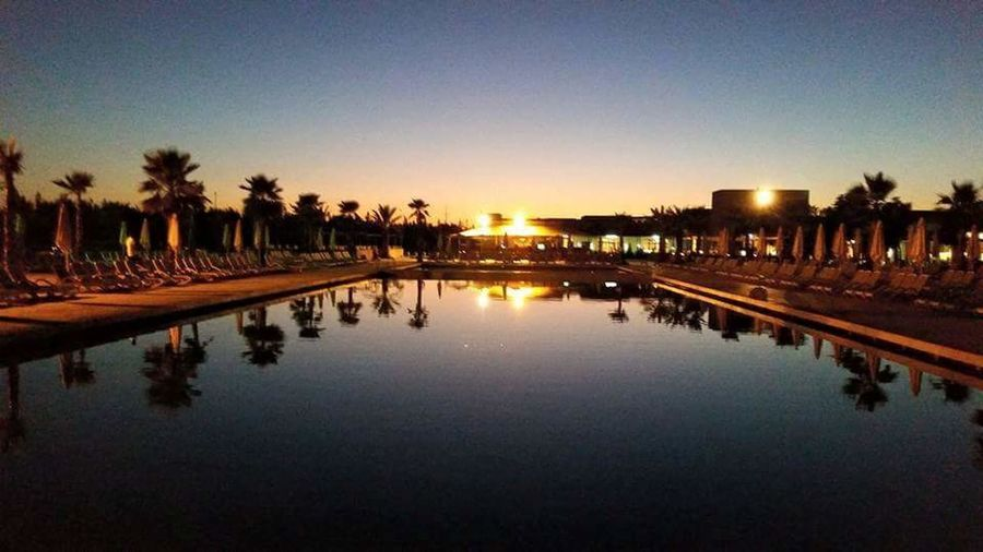 Aqua Mirage Morroco Marakesh Pool Night Hotel Morrocan Aquamiage