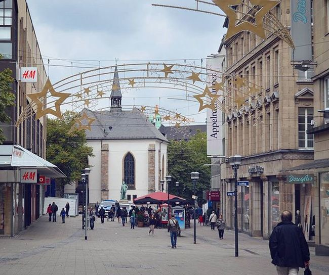 Рождество в Эссене совсем скоро 🎆 Stars Sterne  Essen Deutschland Germany Europe