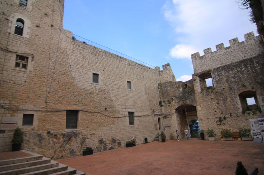 castle of Monforte Campobasso Molise Italy Campobasso Italy Molise Monforte Castle Architecture Building Building Exterior Built Structure Day History Nature Old Sky The Past