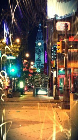 City Hall Philadelphia 🔔 215 Philly Philadelphia Grafitti Lights Cityscape