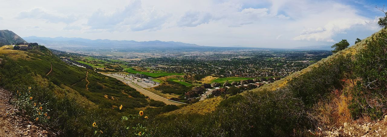 Mountainbike in Cornercanyon Panorama Valley The Places I've Been Today Hiking Trail Popular Photos