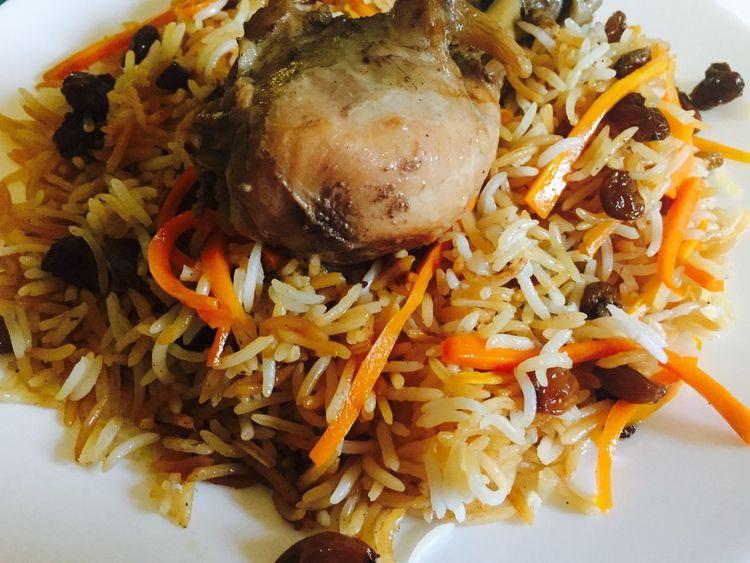 Yummy Kabul Pulao Food