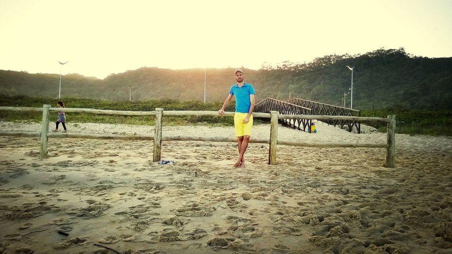 Beach Brazil Hello World Sunset