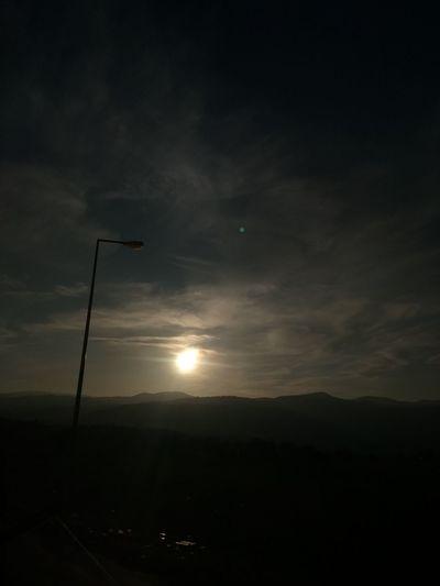 Gün Sonu Gunbatimi EyeEm Best Shots Frist Eyeem Photos Güzel Memleketim Kütahya Kütahyalı Pazar Keyfî No People Night Outdoors Landscape Moon Nature Sunset Sky