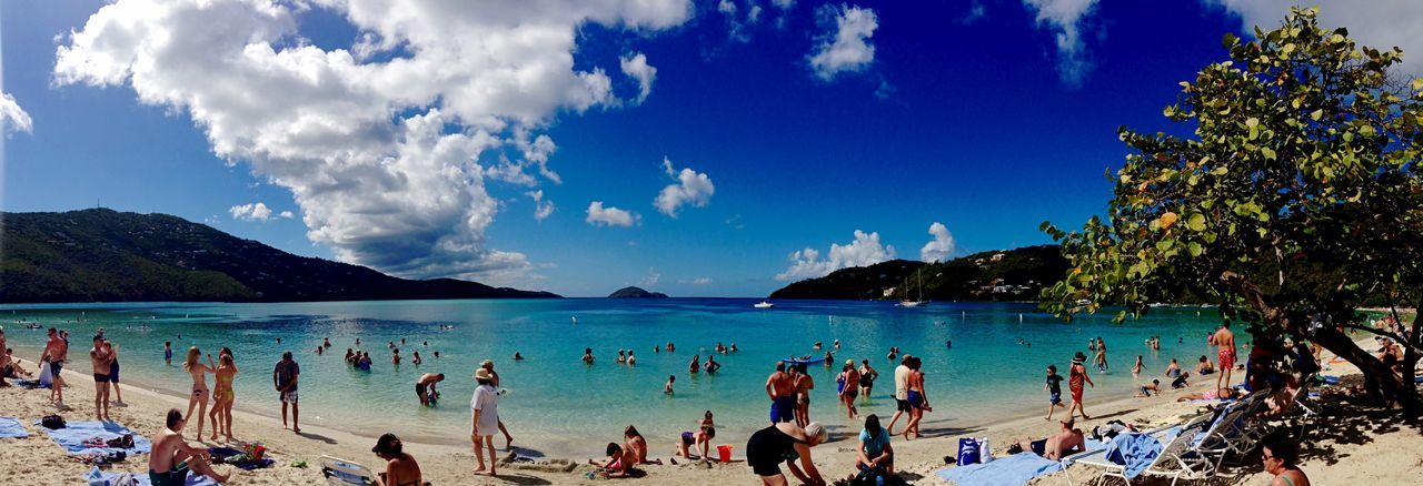 Stthomas St Thomas Beach Enjoying Life