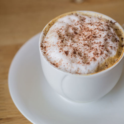 Cappuccino Close-up Coffee - Drink Coffee Cup Day Drink Food And Drink Freshness Froth Art Frothy Drink Indoors  Latte Mocha No People Refreshment Saucer Table