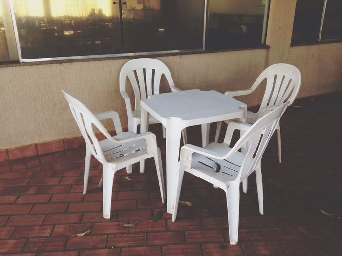 Restaurant Plastic Chairs Table