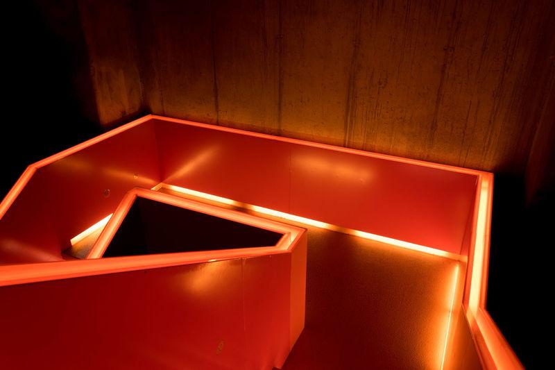 Architecture Background Essen Extraschicht 2017 Germany Illuminated Indoors  Neon Lights No People Staircase Stairways Zeche Zollverein first eyeem photo Neon Life AI Now The Creative - 2018 EyeEm Awards