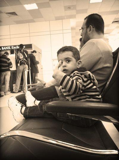 Checking in at Doha International Airport (DOH) مطار الدوحة الدولي Checking In