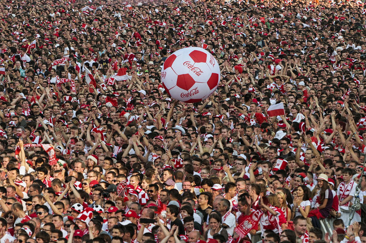 Emotions Ball Crowd Crowd Of People Crowded Crowded People Crowded Place Emotions Captured European Championship  Fans Football Fans Leisure Activity Lifestyles Soccer Togetherness Togheter Toghether Toghetherness