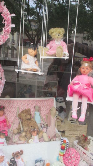 Childhood Choice Close-up Day Dolls For Sale Girls Girls' Games Kitch No People Old Dolls Outdoors Pink Color Pink Colors Retail  Retail Display Shop Window Shop Window With Toys Store Sweetness Teddy Bear Tenderness And Warmth... Toys Toys For Girls Variation