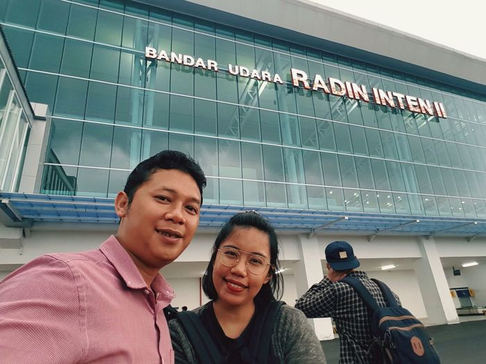 mu first time at Lampung ... wellcome to radin inten international airport Portrait Airport
