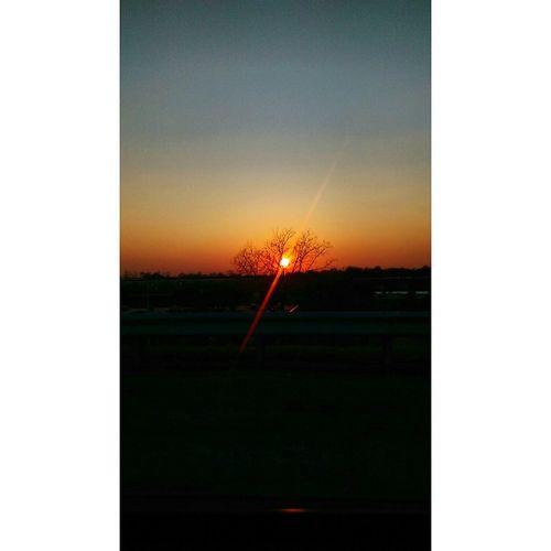 The beauty of sunset Enjoying The Sun Jogging Relaxing