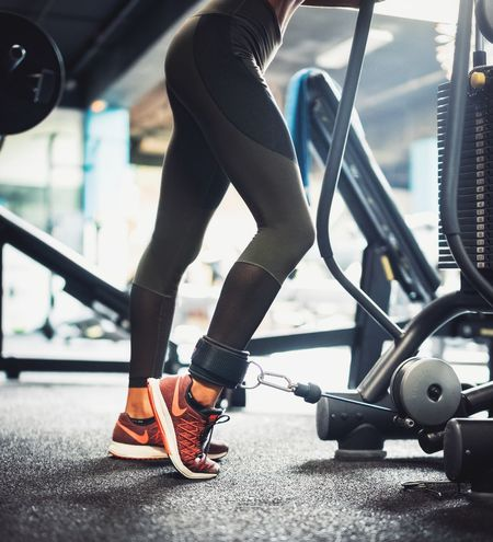 Day Exercise Equipment Exercising Exercising Fitfir Gym Gym Time Health Club Healthy Lifestyle Indoors  Lifestyles Muscle Building People Real People Sport Woman Woman Working Out Young Adult