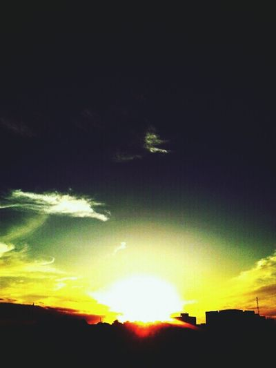 Por do sol:3^-^ First Eyeem Photo
