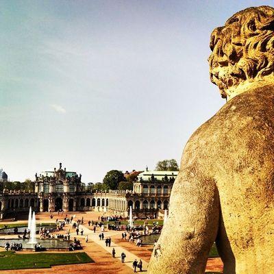 Beautiful day in Dresden Saxony Sachsen Zwinger Insta_international Instagermany Insta_europe Ig_deutschland