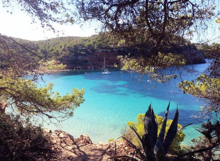 Ibiza Summer Beach Sea Dreaming Sun Tranquility Traveling Peace And Quiet