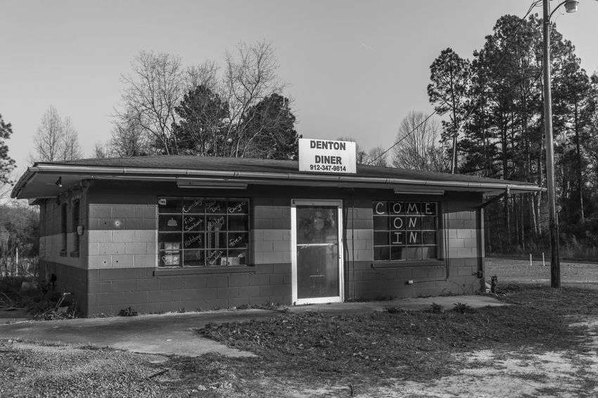 Abandoned Denton Diner Business Finance And Industry Day Diner No People Outdoors Restaurant Store Tree